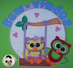 Resultado de imagem para modelo de mural de eva Maria Valentina, School Frame, Quilt Patterns, Sewing Patterns, Infant Activities, Baby Bows, 4 Kids, Paper Piecing, Scrapbook Paper