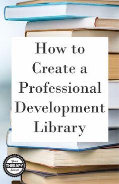 Professional Development Library