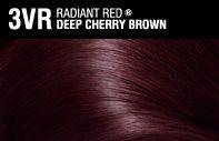 My hair now. John Frieda Deep Cherry Brown 3VR