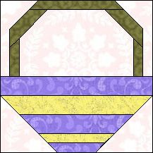 Block of Day for May 09, 2015 - Flower Basket