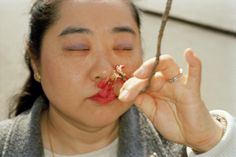JAPAN. Tokyo. Cherry Blossom. 2000. by Martin Parr