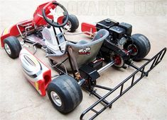 "TAG is the XR Adult Race Kart with Electric Start added. TAG ""Touch and Go"". Now you can simply push a button while seated in your go kart to restart the motor. Drift Trike Wheels, Go Kart Frame, Electric Go Kart, Go Kart Plans, Go Kart Racing, Utility Trailer, Karting, Pedal Cars, Atvs"