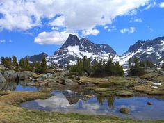 Bucket List! The John Muir Trail, 210 mile trek from Yosemite to Mt. Whitney (a 14er) takes 15-21 days. Permit required. Post has basic info only.