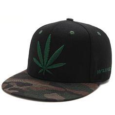219f03c3b44 Black Weed Baseball cap. HuntYourHat. Hats For MenSnapback ...