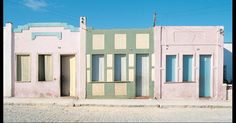 Anna Mariani: Pinturas e Platibandas   houses in northeastern Brazil
