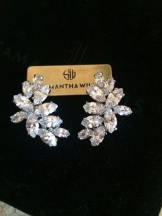Samantha Wills Bespoke Bridal Earrings