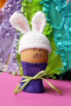 {Mommy} Creations: Easter Bunny Egg Hat