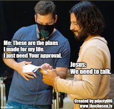 Jesus Is Life, Jesus Lives, God Jesus, Jesus Christ, Best Tv Series Ever, Best Shows Ever, Matthew 22 14, Catholic Memes, I Just Need You