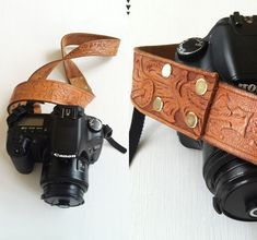 Transform a vintage belt into a camera strap. | 19 Amazing DIY Gifts That Only Look Expensive