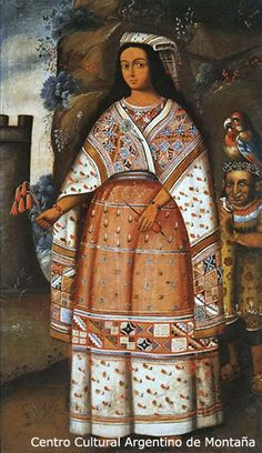 Inca woman, Cuxirimay Occlo. Marriage in the time of the Incas. Cuxirimay Ocllo was a royal princess and cousin of the last Inca emperor Atahualpa, and at the age of ten she became his principal wife. At about the same time the Spanish conquistador Pizarro arrived in Peru and Cuxirimay was present in the Inca encampment at Cajamarca in 1532 when Pizarro first met, tricked, and promptly captured Atahualpa. ... more summary: http://reshistorica.historyboard.net/t439-hell-hath-no-fury at bottom