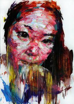신광호(Shin KwangHo) [91] untitled oil on canvas  91 x 64.7 cm 2013