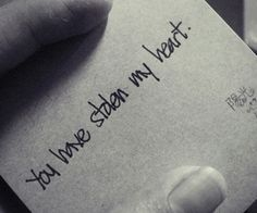 You have stolen my heart!!