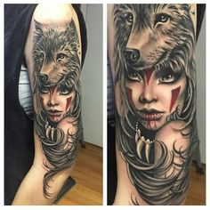 Tattoo of the day Artist @ryanashleymalarkey