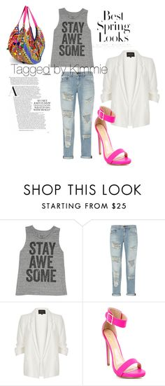 """""""Untitled #366"""" by taggedbykimmie15 on Polyvore featuring Billabong, rag & bone, River Island and H&M"""