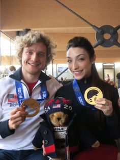 Olympic Gold Medalists Meryl Davis and Charlie