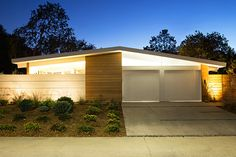 This classic mid-century Eichler residence was renovated to become a naturally-cooled home that brings the outdoors in.