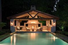 Pool house Ideas We adore all pool houses represent: an easy-breezy, indoor-outdoor lifestyle filled behind sunny days and kick-back gatherings of contacts and family.