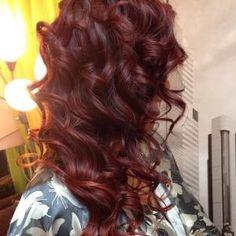 dark red by christa