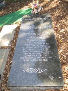 Muhammad Ali - Cave Hill Cemetery - Louisville, Kentucky