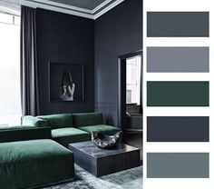 50 shades og Grey...of more? #colour #interior #collage #design