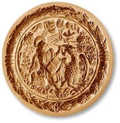 John the Evangelist springerle cookie mold. This mold makes a beautiful cookie or cake topper for a church event: tea, fundraiser or holiday bazaar. It is also a spectacular mold to commemorate the baptism or confirmation of a John in your family. Springerle Cookies, John The Evangelist, 29 December, Antiques Online, Mold Making, Roman Catholic, Fundraising, Cake Toppers, Decorative Plates
