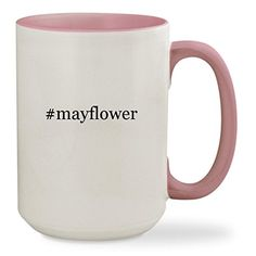 mayflower  15oz Hashtag Colored Inside  Handle Sturdy Ceramic Coffee Cup Mug Pink ** This is an Amazon Associate's Pin. Details can be found by clicking on the image. #HashTag1