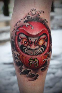 Daruma Tattoos - Inked Magazine