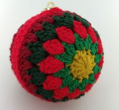 Upcycle Christmas baubles with crochet #crafternoontreats step 48