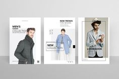 Postcard Flyers Fashion by TimphanCo on @creativemarket