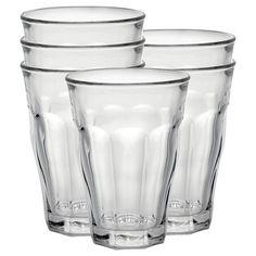 Duralex - Picardie 17 5/8 oz Glass Set of 6, Clear
