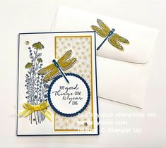 Dandy garden, cards, homemade, stampin up, crafts, stamps, inks, paper, dragonfly Bouquet Images, Handmade Stamps, Punch Out, Paper Crafts, Diy Crafts, Getting Things Done, Dandy, Color Pop, Stampin Up