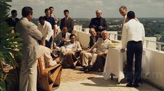 Godfather 2 - Celebration in Cuba with Hyman Roth and the gang The Best Films, Great Movies, Great Books, Hyman Roth, Godfather Part 1, Longest Movie, Movie Marathon, Al Pacino, Celebs