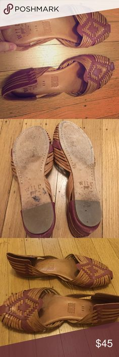 Will Leather Goods huaraches Good pre used condition. Beautiful colors. Super soft leather. Will Leather Goods Shoes