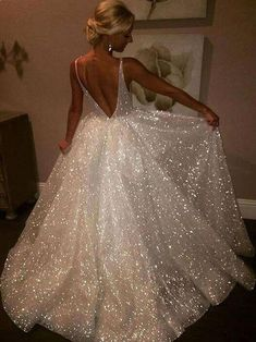 Sexy Affordable Backless V Neck A line Sparkly Long Evening Prom Dresses Prom Dresses Evening Dress Sexy Evening Dress Long Prom Dress Backless Prom Dress A-Line Prom Dresses 2019 Backless Prom Dresses, Sexy Dresses, Dress Prom, Party Dress, Long Dresses, Sparkly Prom Dresses, Prom Gowns, Quinceanera Dresses, Bridesmaid Dresses