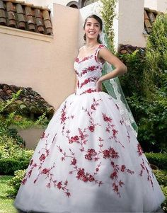 cheap exotic wedding dresses princess coral embroidering