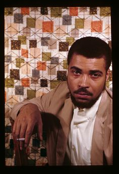 The great iconic actor James Earl Jones as a young man photographed by Harlem Renaissance photographer, author, and socialite Carl Van Vechten in 1961. African-American actors. African-American men.
