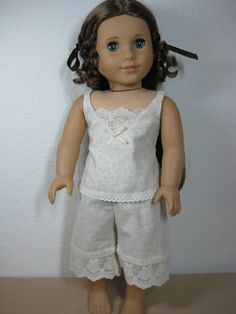 18 Doll Clothes American Girl 1850s Undergarments