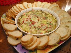 pesto, tomatoe cream cheese dip