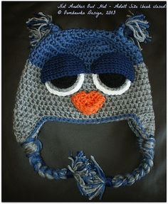 Not ANOTHER How Hat! Version 2 - $4.00 by Rhondda of Oombawka Designs / Owls Part 2 - Animal Crochet Pattern Round Up - Rebeckah's Treasures