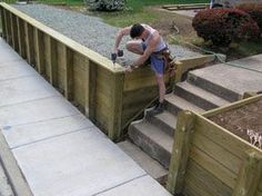 Build a Retaining Wall - Extreme How To - View All