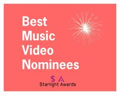 """Music Video Nominees"" by starlight-awards ❤ liked on Polyvore"