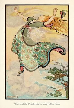 fairy tale, fairy, illustration, illustrator, Russian fairy tales, Frank Cheyne, Russian book of fairy tales, painting, modern,