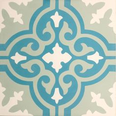 VN Azule 16 Zementfliesen von Designfliesen.de