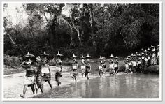 Balinese procession, 1930s, photographer unknown.