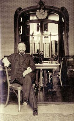 "Victor Horta Ghent 1861 Brussels 1947 Grand master of the ""Art Nouveau"" movement"