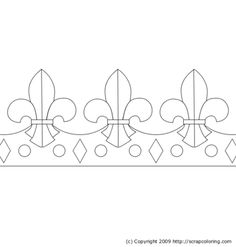 St catherine style crown clip art crowns kokoshniks for Happy birthday crown template