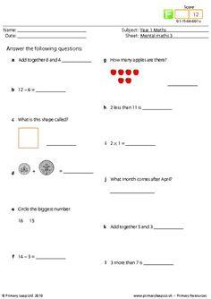 math worksheet : 1000 ideas about mental maths worksheets on pinterest  mental  : Primary 3 Maths Worksheets