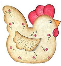 Applique Templates, Applique Patterns, Applique Quilts, Chicken Crafts, Chicken Art, Mug Rug Patterns, Quilt Block Patterns, Cartoon Chicken, Chicken Quilt