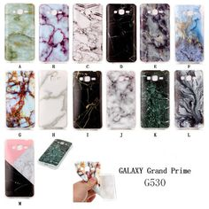 16 best to buy images cell phone accessories, cell phone casesfor samsung grand prime 2016 blue white green black marble design phone case gloss soft back case cover