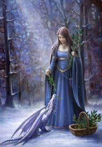 Anne Stokes Solstice Gathering Yule